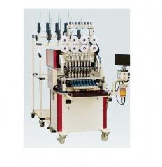 8-ми шпиндельная намоточная и изолировочная машина DSW-4208P-TP