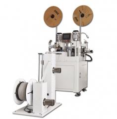 Автоматический станок для зачистки и обжима плоского кабеля KNS JL-131S
