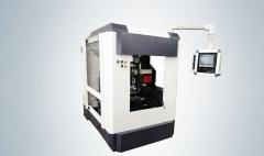 Фрезеровально-фаскосъемный станок с ЧПУ для обработки медных токопроводящих шин LJMA-160