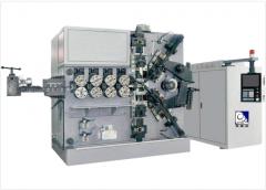 Станок для изготовления пружин сжатия HYD-216