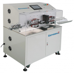 Автоматический станок для мерного реза и зачистки толстых проводов KS-W104