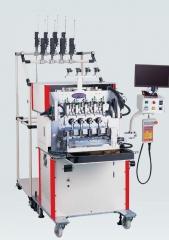 4-х шпиндельная машина для намотки двух типов проводов DSW-P2W