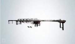 Клепальный станок для обжима шинного моста шинопровода MXY255-125